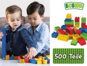 BiOBUDDi education Create 500er Set mit Filzkorb