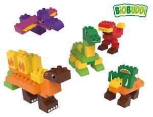 BiOBUDDi educational - Dinosaurier | 79 Teile