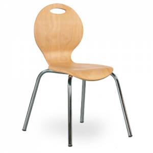 Kinderstuhl Iron - Sitzschale Natur