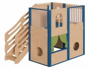 Spielhaus Podesthöhe 140 cm - Spielburg Erna