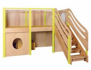 Spielhaus Podesthöhe 99 cm - Spielburg Greta