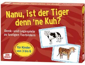 Nanu, ist der Tiger denn ne Kuh
