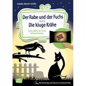 Schattentheater - Der Rabe und der Fuchs - Die kluge Krähe