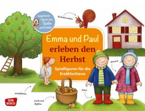 Erzählschiene | Emma und Paul erleben den Herbst