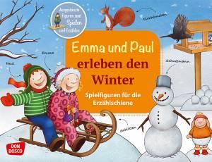 Erzählschiene | Emma und Paul erleben den Winter