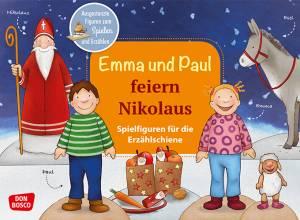 Erzählschiene | Emma und Paul feiern Nikolaus