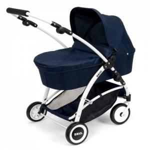Brio Puppenwagen Spin mit Schwenkrädern | Blau