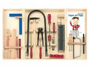 Werkzeugschrank | Qualitäts-Laubsägeschrank mit 24 Teilen