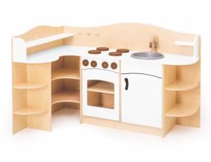 Spielküche | Eckküche Weiß