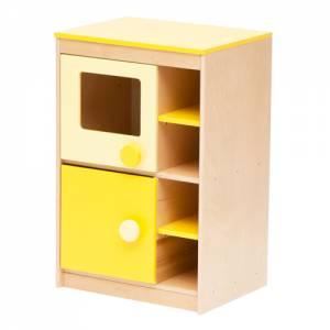 Spielküche | Mikrowelle Gelb