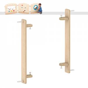 Raumteiler Krippe - Schrank- und Wandbefestigung 2er Set