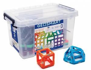 GeoSmart Magnetische Bausteine | Educational Set Deluxe 206 Teile