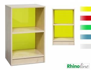 RhinoLine | Fächerschrank Acrylglas - 2 Fächer - Höhe 83,1 cm