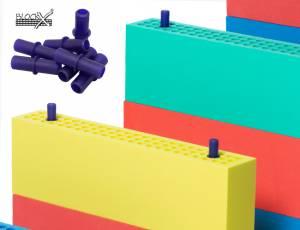 Blockx® Großbausteine - Stecker 20er Set