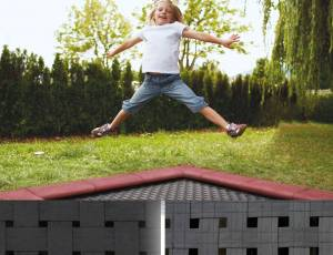 Bodentrampolin Kidstramp - Ersatzsprungtuch