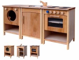 Kinderküche Erle 3er Set