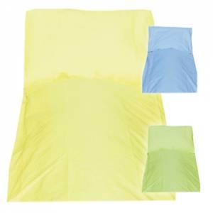 Bettwäsche Garnitur aus Baumwolle - Muster Uni