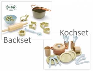 Dantoy BIOplastic Sandspielzeug | Kochset | Backset | 29329 | 29635