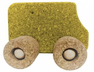 KORXX Vehikel Fahrzeuge   Bus gelb