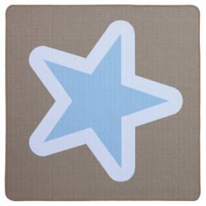 Spielteppich 100 x 100 cm | Hip Hop Quadrat - Stern