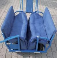 Kindertransportwagen - Ausflugswagen Krippe | Fußsack für 6 Plätze