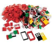 Lego Türen, Fenster und Dachsteine