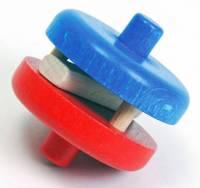 nic Multibahn Laufteil - Klapperscheibe (rot-blau)