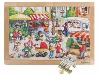 Rahmenpuzzle Marktplatz