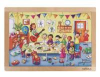 Rahmenpuzzle Kindergeburtstag
