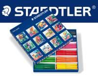Staedtler Noris Club® Fasermaler Schulbox, 144er Set