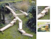 Viadukt Wasserbahn - Unterlegklötze 20er Set