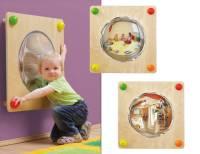 Babypfad Spiegel Duo | Raumteiler und Wandspiel U3