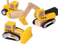 PlanToys Baumaschinen