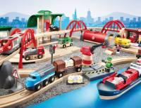 BRIO Straßen & Schienen, Bahn Set Deluxe