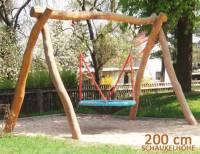 Vogelnestschaukel Robinie | Höhe 200 cm