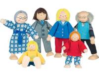 Puppenhaus Familie klassisch | 6-teilig