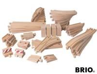 BRIO XXL Schienen-Paket 50-teilig