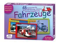 Fotokarten zur Sprachförderung - Fahrzeuge