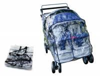 Kindertransportwagen - Rabo 4-Sitzer - Regenschutz