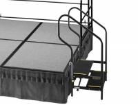 Bühne mobil | Treppenstufen mit Handlauf