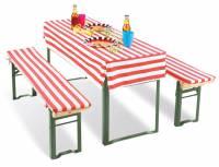 Sitzgarnitur klappbar | Standard - Tischhusse