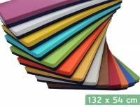 Liegepolster 132 x 54 x 8 cm (Kunstleder beidseitig)