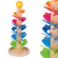 Murmelspiel Klangpagode | Höhe 37,5 cm