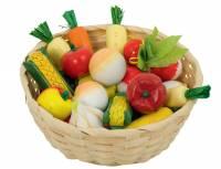 Kinderküche - Gemüsekorb, 17-teilig