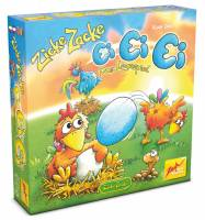 Zicke Zacke Ei Ei Ei - Das Legespiel