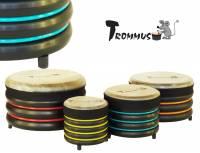 Trommus Bodentrommel 4er Set