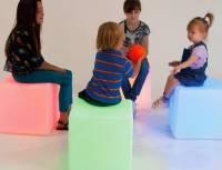 LED Sitzwürfel