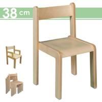 Stapelstuhl Timmi, Sitzhöhe 38 cm