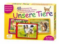 Fotokarten zur Sprachförderung - Unsere Tiere