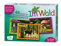 Fotokarten zur Sprachförderung - Im Wald